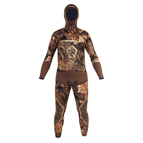 Beuchat Rocksea 7mm Wetsuit for Spearfishing and Diving  Spearfishing Wetsuit
