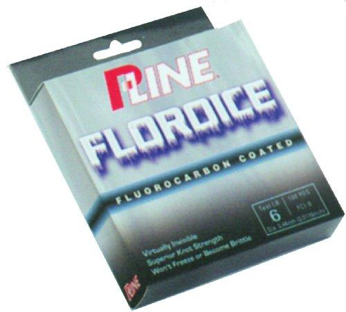 P-Line Floroice Fishing Spool 100 Yard 6-Pound