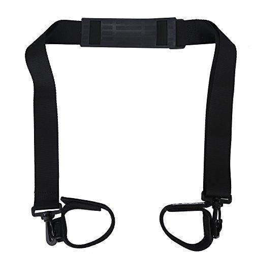 Fishing Rods Shoulder Belt Adjustable Trackle Strap with Hook and Loop