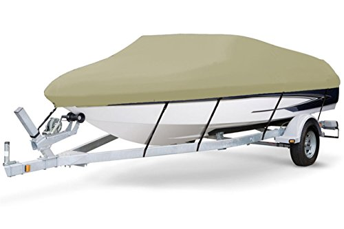 7oz SOLUTION DYED POLYESTER KHAKI COLOR STYLED TO FIT BOAT COVER FOR MALIBU KAYAKS STEALTH 14 2017