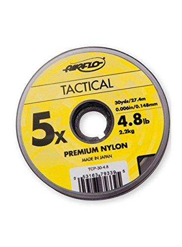 AirFlo Tactical Premium Nylon Tippet 110M Spool - 2X