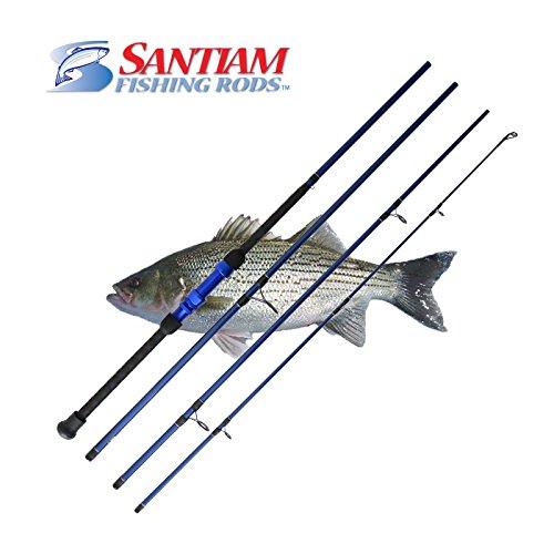 Santiam Fishing Rods Travel Rod 4 Piece 90 12-25lb Surf Rod