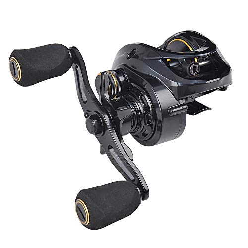 Fiblink Baitcasting Fishing Reel 731 High Speed RightLeft Hand Casting Reel Ultra Smooth Baitcaster for Freshwater and Saltwater with Reel Bag