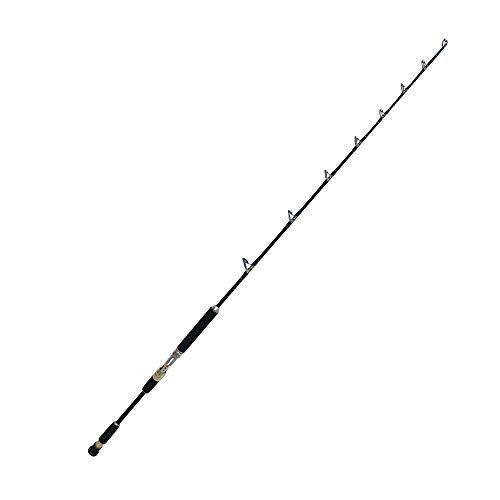 EatMyTackle Amberjack King Jigging Rod  Saltwater Fishing Rod 20-40lb ModerateFast Action 2pc