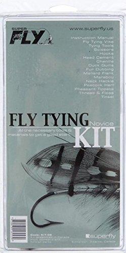 Superfly Fly Tying Kit-Novice Fishing Equipment