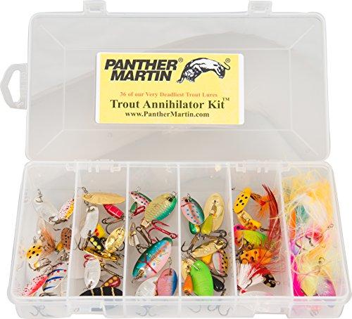 Panther Martin Trout Kit 36 Piece