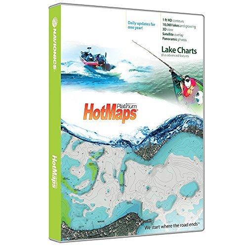 Navionics HotMaps Platinum Canada Lake Charts on SDMSD Beige