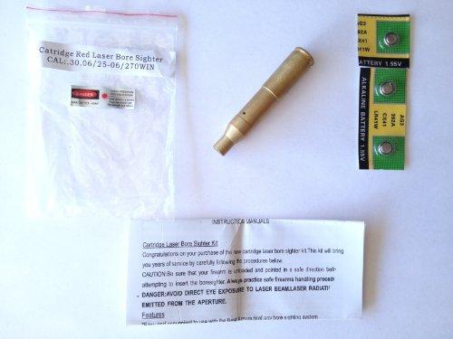 30-06 Springfield 762x63mm 207 Caliber Cartridge Laser Bore Sighter Boresighter