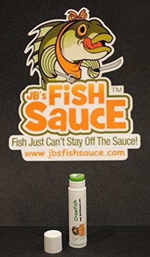 JBs Fish Sauce Fish Attractant - FishStick 15oz Lip Balm Style FishStick - Crawfish - CATCH MORE FISH - Works On All Species