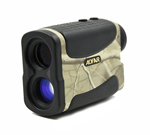 1200M Yard 6 x 25 Laser Rangefinder Waterproof Telemeter Range finder for Hunting Racing - Camo