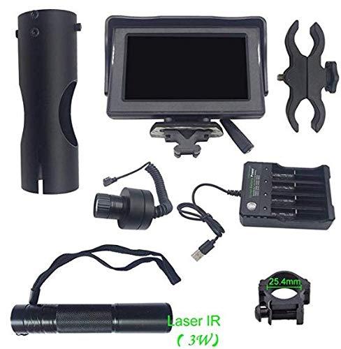 Jiaboyu DayNight Vision Hunting Optics Lens Tactical Night Vision 200 Meters 43LCD Screen Night Vision