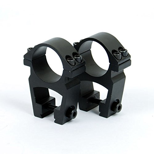 WOLTIS See-Through High Profile 1 inch Scope Rings for Dovetail