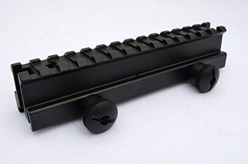 Acid Tactical 1 See-Through Picatinny Riser Flat Top Rail Scope Mount - Full Length 14 slot