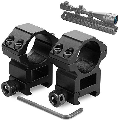 Weaver Scope Rings Modkin Medium Profile Scope Mounts for PicatinnyWeaver Rail 1 inch Set of 2
