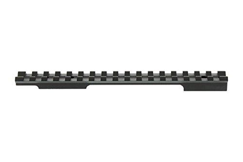 Evolution Gun Works Picatinny Rail Scope Mount Black Remington 700 Long Action 0 MOA