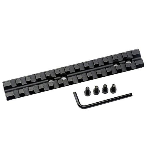 Aimfiree 13 Slots 20mm Picatinny Weaver Rail Scope Mount Base Adapter For Scopes and Optics