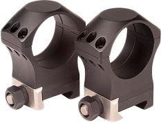 Nightforce Optics Ultralite 1125 High 30mm TitaniumAlloy Ring Set 6 Screw Pattern