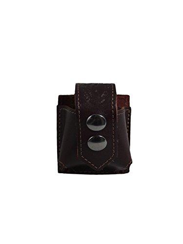New Barsony Burgundy Leather Belt Clip Revolver Speed Loader Pouch for 5-6 shot 38 22