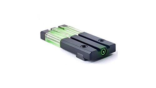 Ultimate Arms Gear Fiber-Tritium Bullseye Sight H&K VP9 Rear Sight
