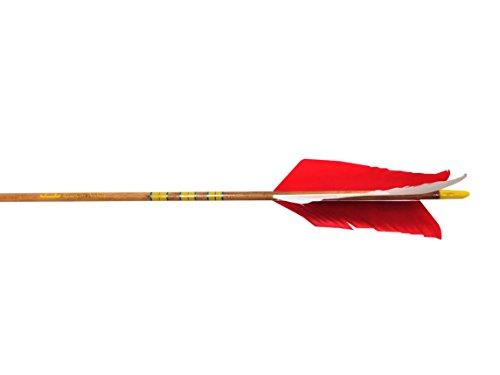 Rose City Archery Port Orford Cedar Hunter Flu-Flu Arrows 12-Pack