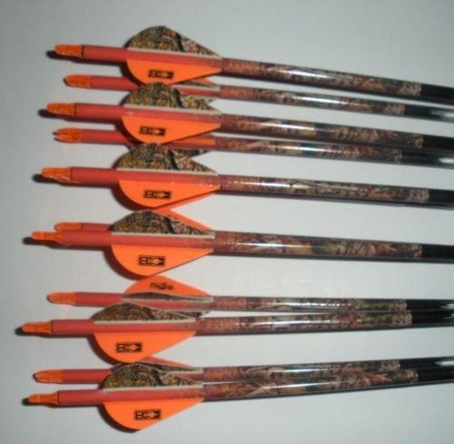 Easton Aftermath 400 Carbon Arrows wBlazer Vanes Vista Wraps