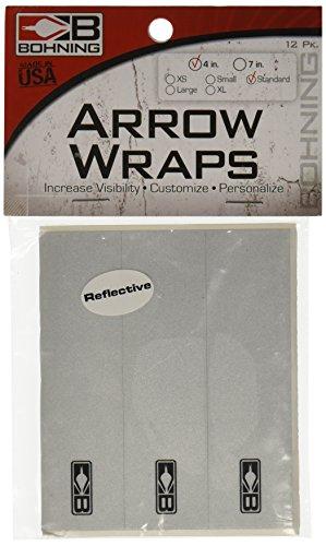 13 - Pk Bohning 4 inch Blazer Wraps REFLECTIVE