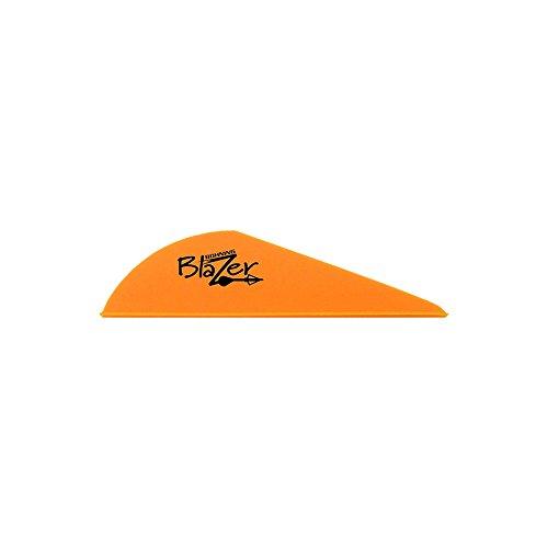 Bohning Blazer Archery Vane 100-Pack Neon Orange