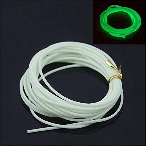 4M Luminous Light Tube Glow Tubing Attract Fish Deep Sea Fishing Tool 2mm x12mm