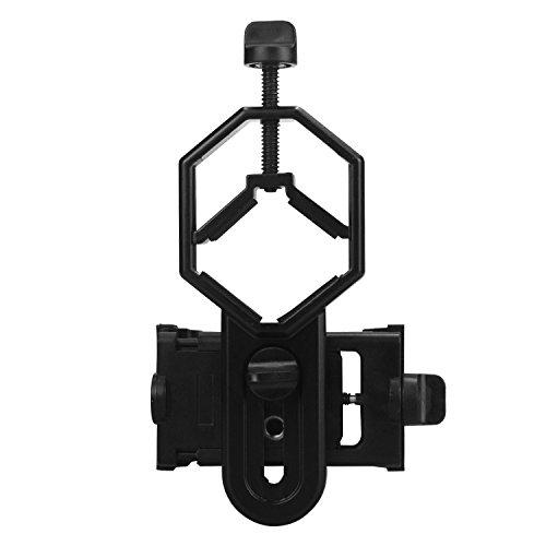 Cellphone Adapter Mount Spotting Scope Cellphone Adapter Mount for Rifle Scope Camera Digiscoping Binocular Telescope Microscope Monocular