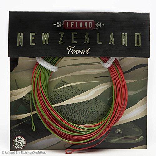 Leland New Zealand Trout Fly Fishing Line Weight-Forward Floating WF5F