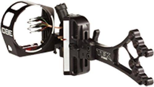 Custom Bow Equipment 5 Pin 019 Caliber Tek Hybrid Adjustable Sight Right Hand Black