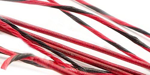 Hoyt Alphaburnere 7 Custom Bow String Cable Set BCY X by 60X Custom Strings Flo GreenBlack