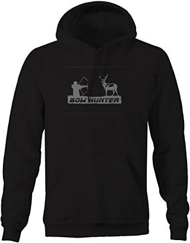 Stealth - Bow Hunter Archery Deer Hunting Buck Pullover Sweatshirt -Medium