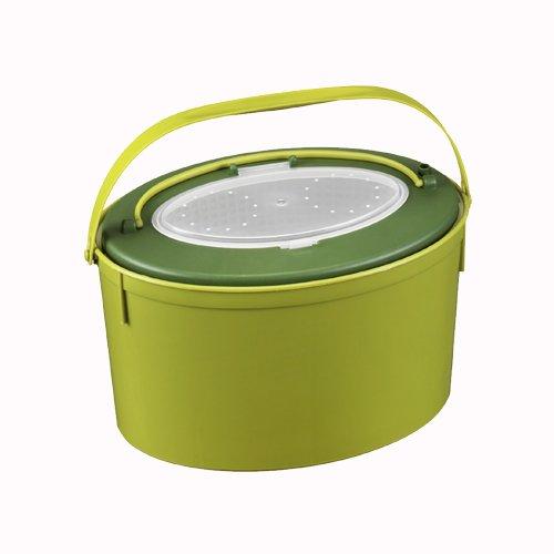 PANARO 1167 Live Bait Bucket Olive Green