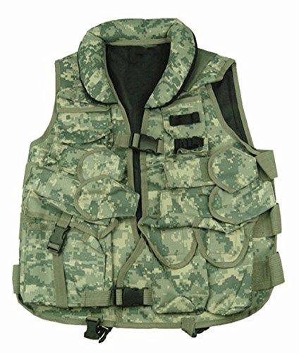 Ultimate Arms Gear ACU Digital Camouflage Tactical Vest with Soft Collar For Mossberg 500590835Maverick 88 Shotgun