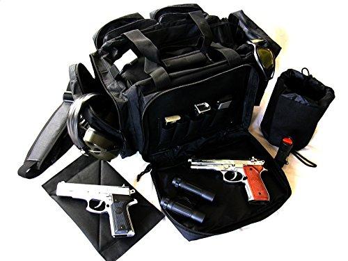 NATO Black Range Bag 20 Tactical Survival Hunting Shoot Ballistic Nylon 1200D