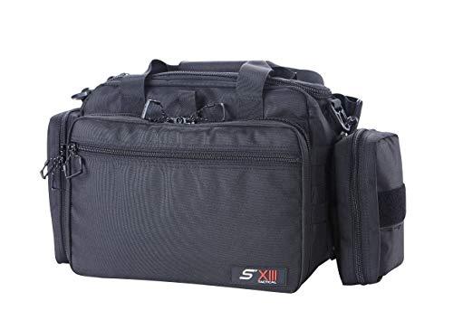 SXIII S13 Tactical Pistol Range Bag 1000D Ballistic Denier Light