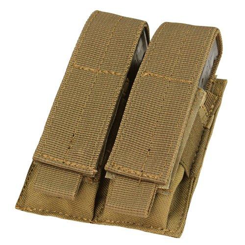 Condor MA23-498 Double Pistol Mag Pouch Coyote Brown