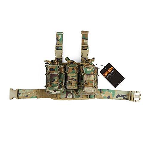 Excellent Elite Spanker Tactical Legs Triple Mag PouchMulticam