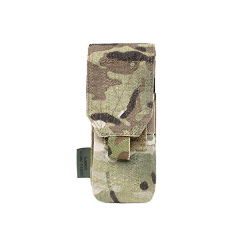 Warrior Assault Systems Single M4 556mm Non Slip Retention Mag Pouch 2 Magazine MultiCam