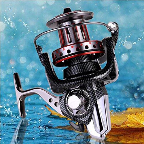 AFL8000-12000 Large Spool 11BB Spinning Fishing Reel Full metal Saltwater Boat Rock Fishing Reel AFL12000