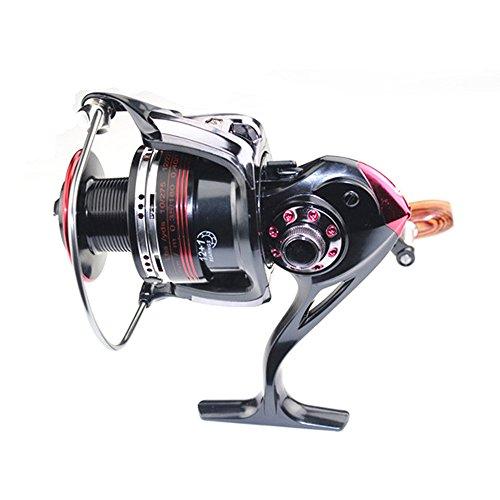 Happy Hours LK4000 Reels High Speed 121 Ball Bearings 551 Gear Ratio Freshwater Saltwater Fishing Spinning Reel Line Capacity 82201016512130 lbyd