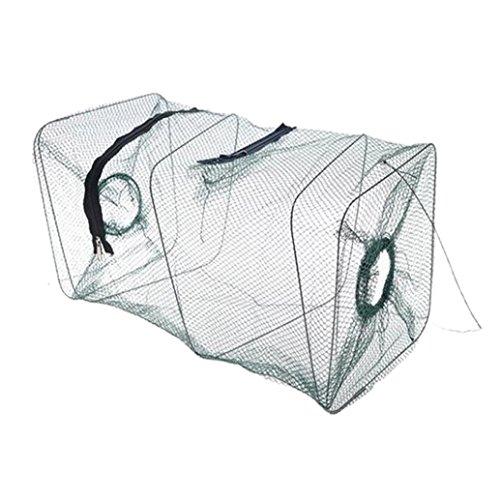 Ecosin Fashion 2016 New Folding Fish Minnow Crab Fishing Bait Shrimp Trap Cast Net Cage