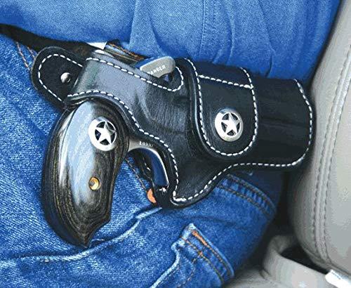 Bond Arms Leather Driving Holster Black WStar RH Snake SlayerRanger II