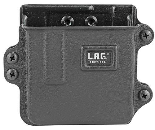LAG TACTICAL INC Single Rifle Magazine Carrier Fits AR-10 Magazines Kydex Black Finish