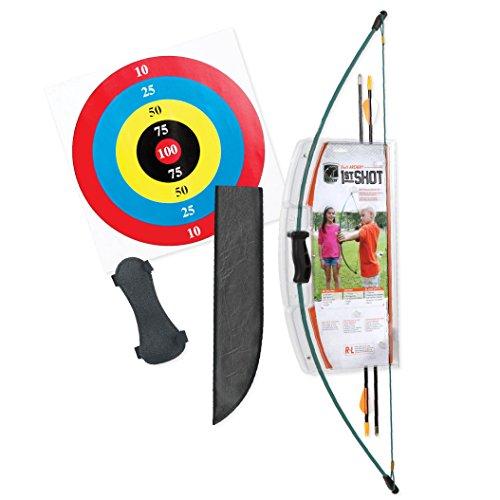 Bear Archery 1st Shot Youth Bow Set – Hunter Green