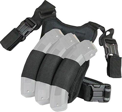 Adaptive Tactical Tac-Hammer Triple Mag Pouch Drop Leg Platform for Ruger 1022 Shotguns AT-07900