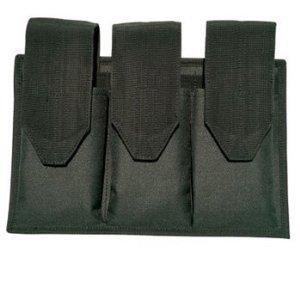 Galati Gear Modular Three Pocket Magazine Pouch Black
