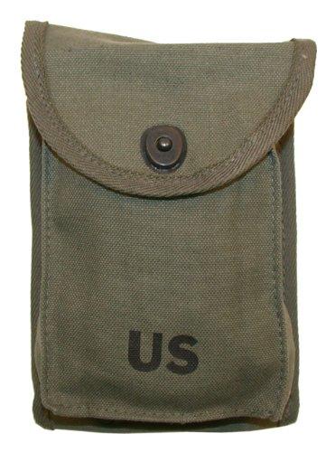 US MILITARY M1 CARBINE 4 Pocket OD Green Magazine Pouch