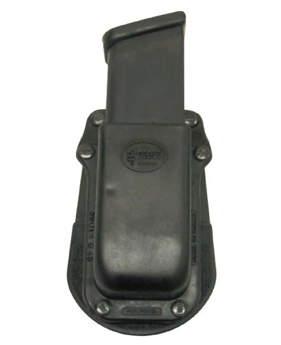 Fobus Tactical 3901-G45 Standard Right Hand Conceal Carry Polymer Paddle Magazine Pouch For Glock 45 cal Single Magazine - Black